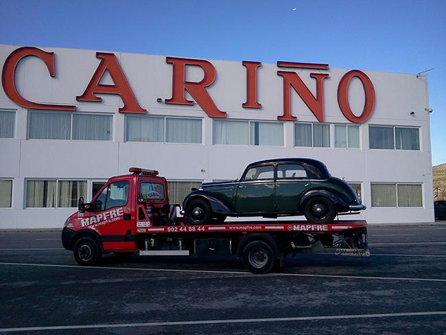 Transporte vehículos clásicos