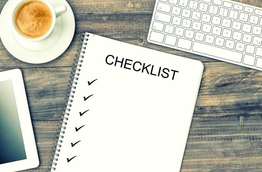 Checklist Grupo Cariño