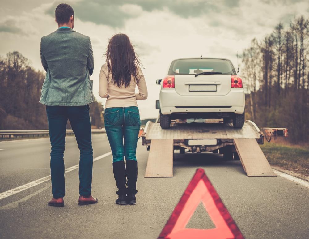 Imprevistos en la carretera
