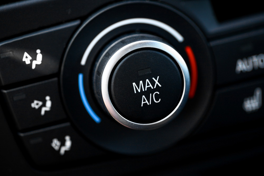 poner la calefacción en el coche
