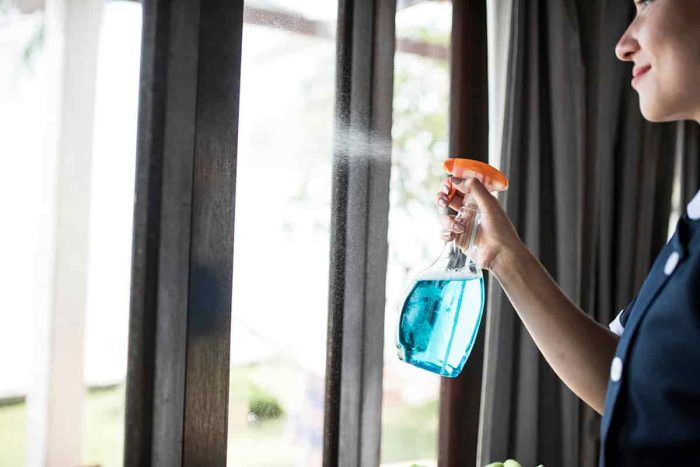 limpiar tu nuevo hogar antes de la mudanza
