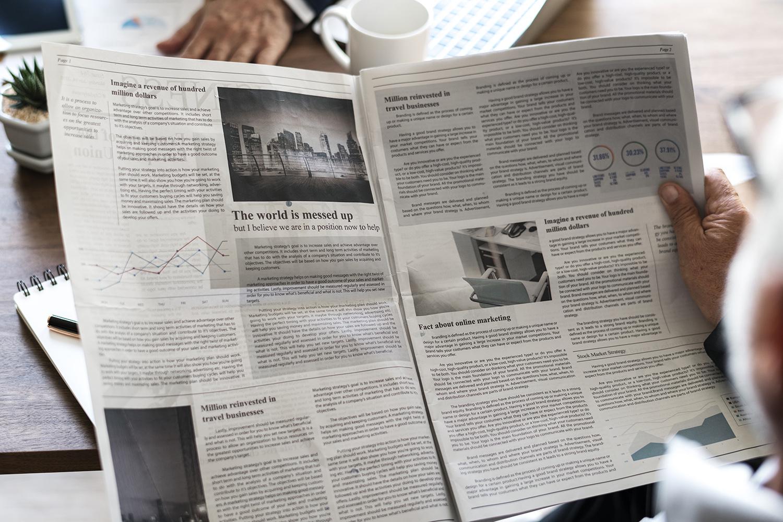El periódico en las mudanzas